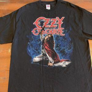 1990 Ozzy Osbourne Blizzard Of Ozz T-Shirt Sz XL